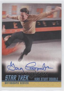 2009 Rittenhouse Star Trek The Original Series: Archives Autographs #A229 - Gary Combs as Kirk Stunt Double
