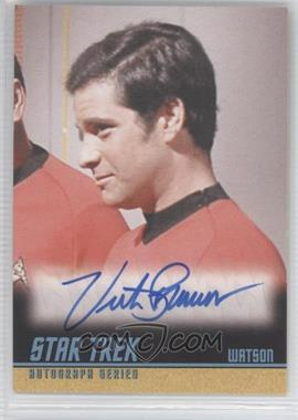 2009 Rittenhouse Star Trek The Original Series: Archives Autographs #A236 - Victor Brandt as Watson