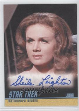 2009 Rittenhouse Star Trek The Original Series: Archives Autographs #A239 - Sheila Leighton