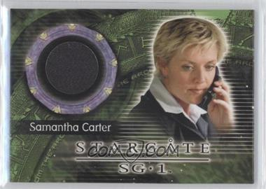 2009 Rittenhouse Stargate Heroes Update From the Archives Costume Materials #C62 - Amanda Tapping as Samantha Carter