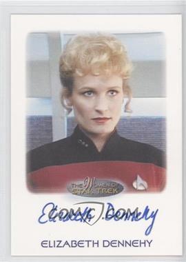 2009 Rittenhouse The Women of Star Trek Autographs #N/A - Elizabeth Dennehy