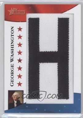 2009 Topps American Heritage - [???] #PP-GW - George Washington /50