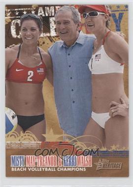 2009 Topps American Heritage [???] #AC10 - Kerri Walsh, Misty May-Treanor