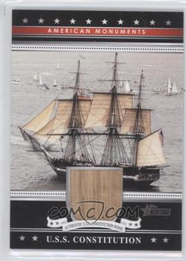 2009 Topps American Heritage [???] #AHR-USSC - U.S.S. Constitution