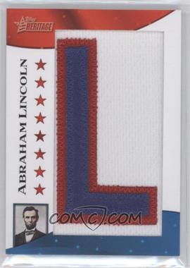 2009 Topps American Heritage [???] #PP-AL - Abraham Lincoln /50
