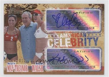 2009 Topps American Heritage American Celebrity Autographs #ACA-WM - Kerri Walsh, Misty May-Treanor /100