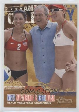 2009 Topps American Heritage American Celebrity #AC10 - Kerri Walsh, Misty May-Treanor