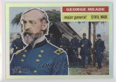 2009 Topps American Heritage Chrome Refractor #C30 - George Meade /76