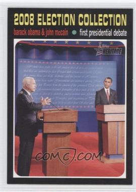 2009 Topps American Heritage #143 - Barack Obama & John McCain