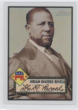 2009 Topps Heritage American Heroes Edition - [Base] - Chrome Refractor #C16 - Hiram Rhodes Revels /76
