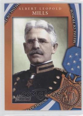 2009 Topps Heritage American Heroes Edition - Medal of Honor #MOH-26 - Albert Leopold Mills
