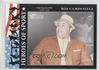 2009 Topps Heritage American Heroes Edition [???] #HS-12 - Roy Campanella