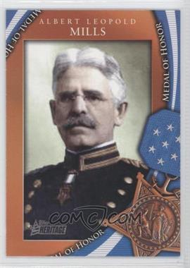 2009 Topps Heritage American Heroes Edition [???] #MOH-26 - Albert Leopold Mills
