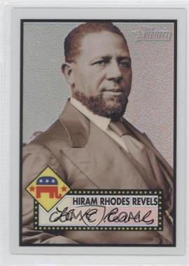 2009 Topps Heritage American Heroes Edition Chrome Refractor #C16 - Hiram Rhodes Revels /76