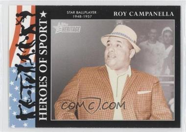 2009 Topps Heritage American Heroes Edition Heroes of Sports #HS-12 - Roy Campanella