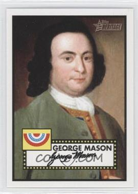 2009 Topps Heritage American Heroes Edition #13 - George Mason