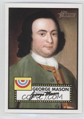 2009 Topps Heritage American Heroes Edition #13 - George Mason