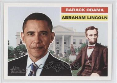 2009 Topps Heritage American Heroes Edition #144 - Abraham Lincoln / Barack Obama