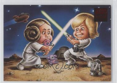 2009 Topps Star Wars Galaxy Series 4 [???] #3 - [Missing]