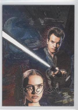 2009 Topps Star Wars Galaxy Series 4 Etched Foil #1 - [Missing]