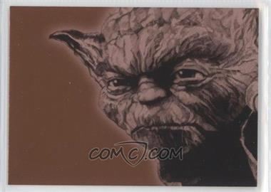 2009 Topps Star Wars Galaxy Series 4 Foil Art Bronze #12 - [Missing]