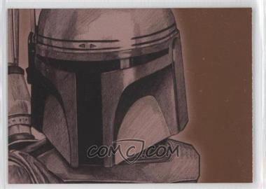 2009 Topps Star Wars Galaxy Series 4 Foil Art Bronze #15 - [Missing]