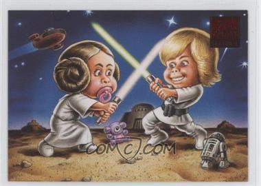 2009 Topps Star Wars Galaxy Series 4 Lost Galaxy #3 - [Missing]