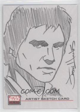 2009 Topps Star Wars Galaxy Series 4 Sketch Cards #N/A - [Missing]