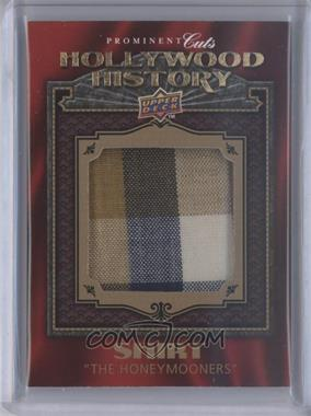 2009 Upper Deck Prominent Cuts - Hollywood History #HH-33 - Jackie Gleason