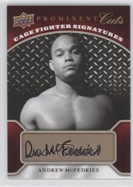 2009 Upper Deck Prominent Cuts [???] #CFS-AM - [Missing]