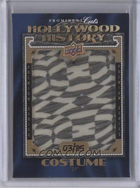 2009 Upper Deck Prominent Cuts Hollywood History Premium Series #HHP-29 - [Missing] /35