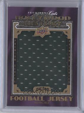 2009 Upper Deck Prominent Cuts Hollywood History Premium Series #HHP-3 - [Missing] /40