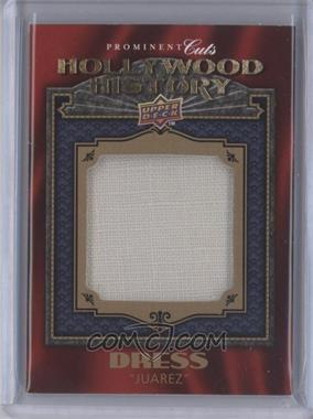 2009 Upper Deck Prominent Cuts Hollywood History #HH-14 - [Missing]