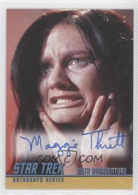 2010-11 Rittenhouse Star Trek: The Remastered Original Series Single Autograph #A202 - Maggie Thrett