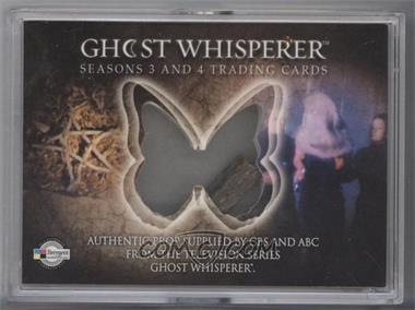 2010 Breygent Ghost Whisperer Season 3 & 4 Prop Cards #GW3&4-P1 - Pentagram