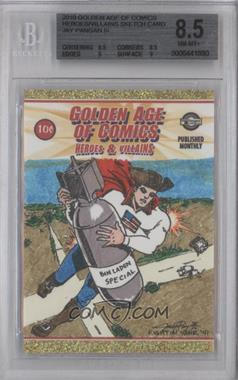 2010 Breygent Golden Age of Comics: Heroes & Villains - Sketch Cards #N/A - [Missing] /1 [BGS 8.5]