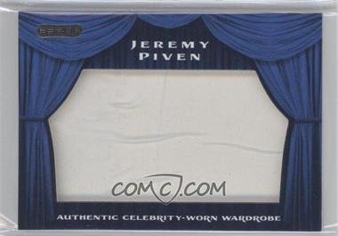 2010 Razor Pop Century Authentic Celebrity-Worn Wardrobe #SW-33 - Jeremy Piven