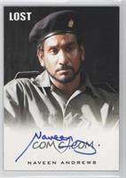 Naveen Andrews as Sayid Jarrah (Military Garb)