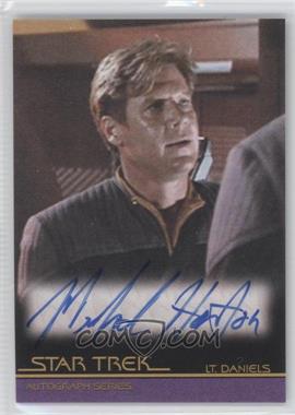 """2010 Rittenhouse The """"Quotable"""" Star Trek Movies - Autographs #A98 - Michael Horton as Lt. Daniels"""