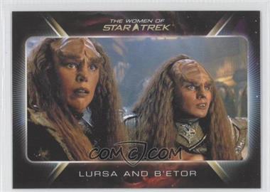 "2010 Rittenhouse The ""Quotable"" Star Trek Movies - [Base] #87 - Lursa and B'etor"