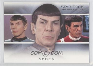 "2010 Rittenhouse The ""Quotable"" Star Trek Movies Bridge Crew: Transitions #T2 - Spock"
