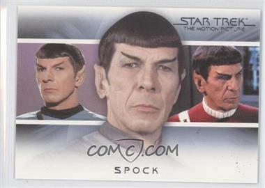 "2010 Rittenhouse The ""Quotable"" Star Trek Movies Bridge Crew: Transitions #T2 - Spock"