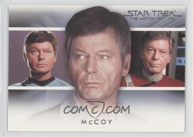 "2010 Rittenhouse The ""Quotable"" Star Trek Movies Bridge Crew: Transitions #T3 - McCoy"