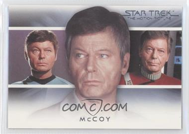 "2010 Rittenhouse The ""Quotable"" Star Trek Movies Bridge Crew: Transitions #T3 - McCoy"