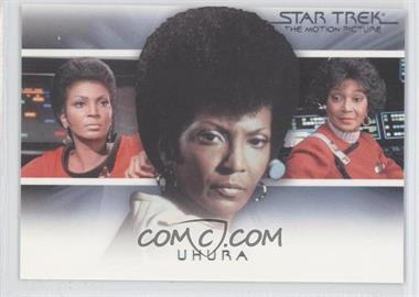 "2010 Rittenhouse The ""Quotable"" Star Trek Movies Bridge Crew: Transitions #T5 - Uhura"