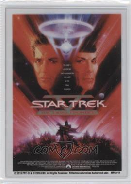"2010 Rittenhouse The ""Quotable"" Star Trek Movies Movie Poster Cels #MP5 - Star Trek V: The Final Frontier"