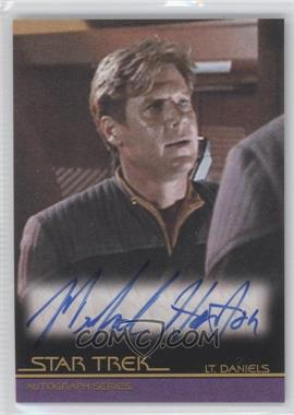 "2010 Rittenhouse The ""Quoteable"" Star Trek Movies Autographs #A98 - Michael Horton as Lt. Daniels"