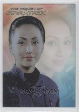 2010 Rittenhouse The Women of Star Trek - Leading Ladies #LL9 - Linda Park as Lt. Hoshi Sato