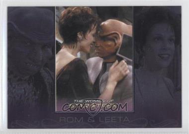 2010 Rittenhouse The Women of Star Trek - Romantic Relationships #RR5 - Max Grodenchik, Chase Masterson