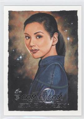 2010 Rittenhouse The Women of Star Trek Artifex #HOSA - Lt. Hoshi Sato